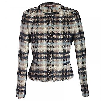 Marie Mero Skyfall Tweed Box Jacket