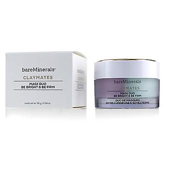 Bareminerals Claymates Be Bright & Be Firm Mask Duo - 58g/2.04oz