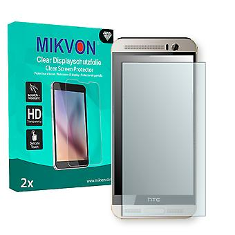HTC One M9+ Supreme Camera Edition Screen Protector - Mikvon Clear (Retail Package with accessories)