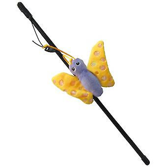 Creaciones Gloria Toy for Cat with Stuffed Orange Fish (Cats , Toys , Teaser Wands)