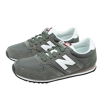 New balance U 420 women's / unisex sneakers running shoes grey wild leather 40-42 new