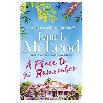 En plats att minnas genom en plats att komma ihåg - 9781786699947 bok