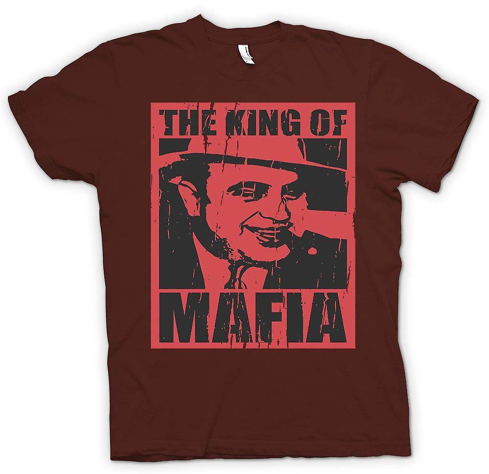 Mens T-shirt - The King Of Mafia - Al Capone