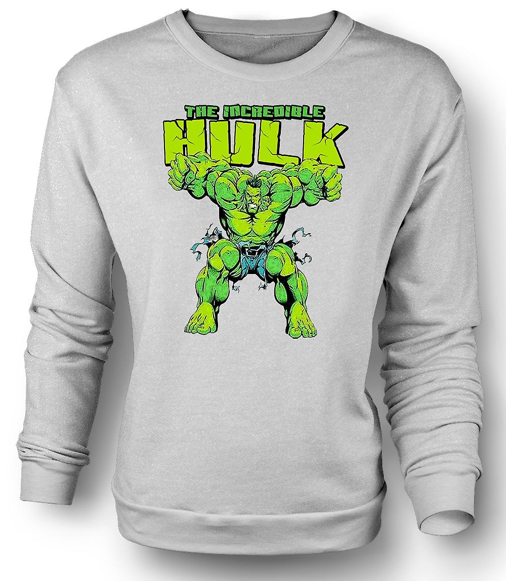 Camiseta para hombre The Incredible Hulk - héroe de cómic