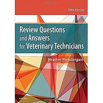 Esaminare le domande e risposte per tecnici veterinari, 5e