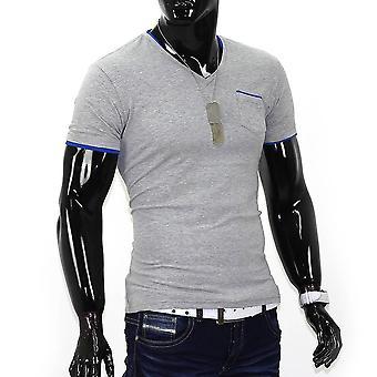 Men's short sleeve t-shirt Stretch Slim fit Polo Shirt Colored Clubwear Club