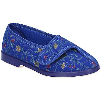 GBS Medical Womens Wilma Wide Fit Lightweight Slippers