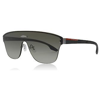 Prada Sport PS57TS 295295 Gunmetal PS57TS Round Sunglasses Lens Category 2 Size 43mm