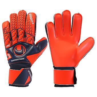 UHLSPORT NEXT LEVEL SOFT SUPPORTFRAME Goalkeeper Gloves Size