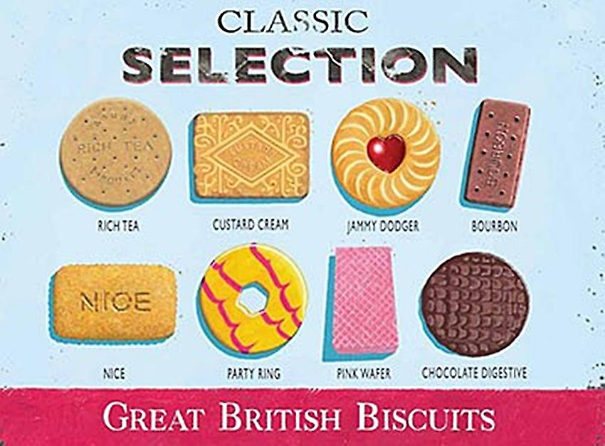 Classic Biscuit Selection small metal sign   (og 2015)