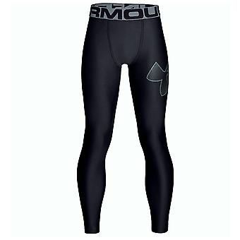 Under Armour Tactical Armour Kinder ausgestattet Funktionsunterwäsche Leggings eng schwarz