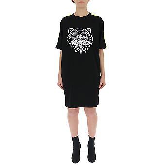 Kenzo schwarz Baumwollkleid