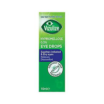 Vizulize Hypromellose 0.3% Eye Drops 10Ml