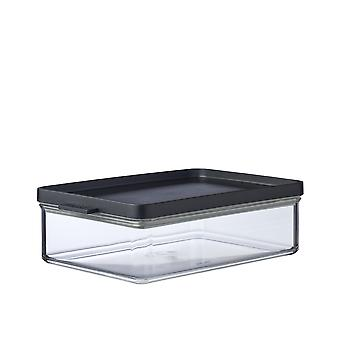 Mepal Omnia Breakfast Storage Box, Nordic Black