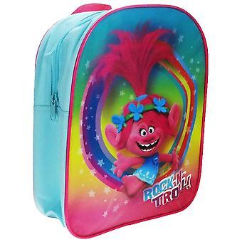 Trolls Rock N Troll Turquoise Backpack