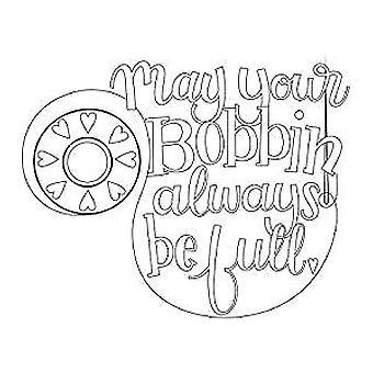 Spellbinders Bobbin Wishes Stamp Set (SBS-160)
