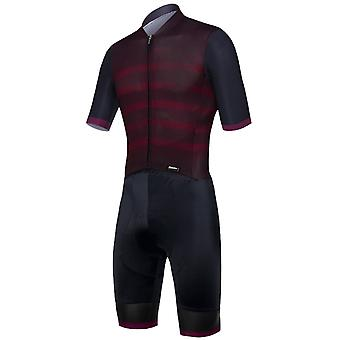 Santini Bordeaux 2019 Genio Short Sleeved Cycling Suit