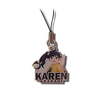 Encanto del teléfono celular - Nisemonogatari - Nuevo Karen Metal Anime Licenciado ge17080