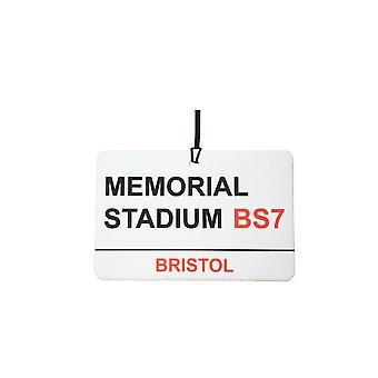 Bristol Rovers / Memorial Stadium Street Sign Car Air Freshener