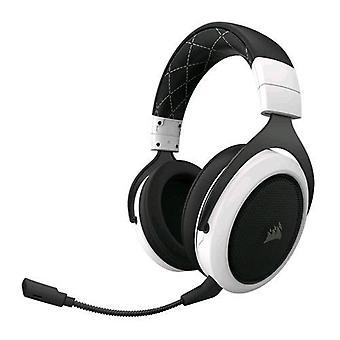 Corsair hs70 gaming headphone 7.1 wireless surround sound color black white