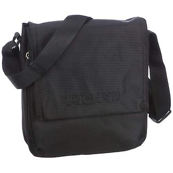 Picard Hitec Black Schwarz Women's Shoulder Bag 11x27x23 Centimeters (B x H x T)