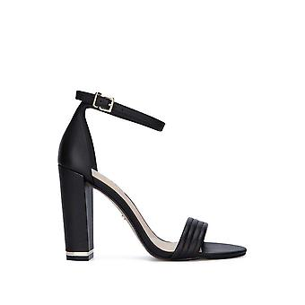 Kenneth Cole New York Milena Ankle Strap Sandal Heel in Leather Black Kenneth Cole New York Milena Ankle Strap Sandal Heel in Leather Black Kenneth Cole New York Milena Ankle Strap Sandal Heel in Leather Black Kenneth Cole