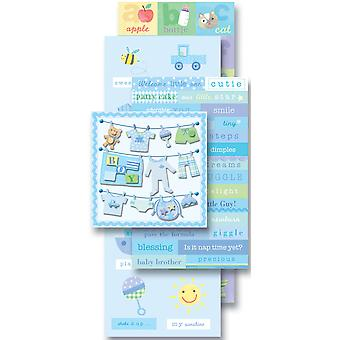 Spiegelen Pack Sticker Embellishments Baby Boy K921566