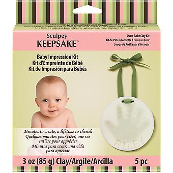 Sculpey Keepsake Baby Impression Kit K34002