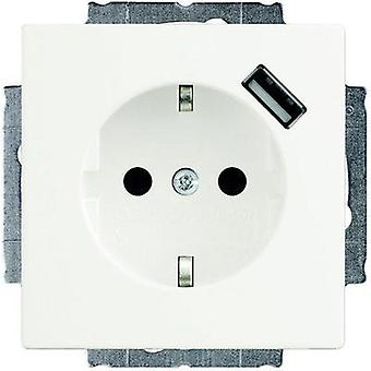 Busch-Jaeger Insert PG socket, USB port Solo, Future Linear, Axcent White 20 EUCBUSB-84