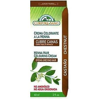 Corpore Sano Brown Henna Colouring Cream 60ml