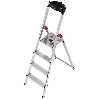 Hailo Aluminum ladder L60 Easyclix (5 steps) (DIY , Tools , Stairs and stools)