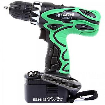 Hitachi 14.4V drill Cordless Flashlight + 2 Ni-Cd batteries 1.4 Ah