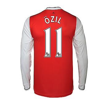 2016-17 arsenal Long Sleeve Home skjorta (Ozil 11)