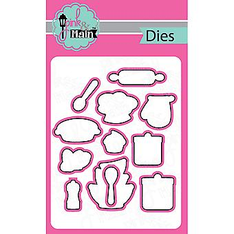 Pink And Main Dies-Baker, 12/Pkg PNM014