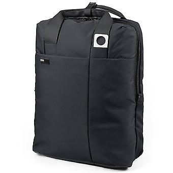 Noir Lexon Apollo Double Laptop Backpack