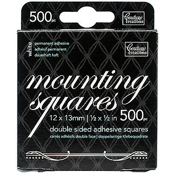 Couture Creations Double-Sided Mounting Squares 500/Pkg-.5