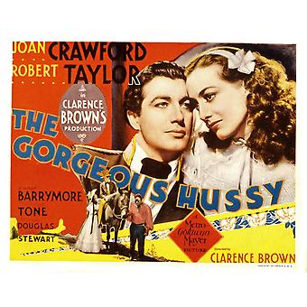 De Gorgeous Hussy Robert Taylor Joan Crawford 1936 Movie Poster Masterprint