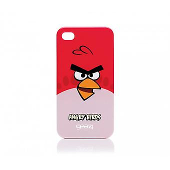 Gear 4 Angry Birds mobile phone protective case for iPhone 4 / 4 S Red