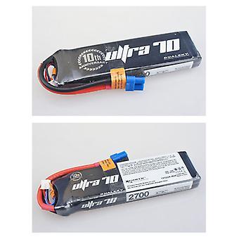 2700 mAh 70C 4s1p 14,8 v, 12 C charge