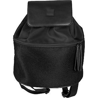 Urban classics - MIDI MESH Backpack Backpack black