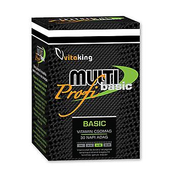 Multi Basic Pro, daglig vitalitet Pack (30 portioner)