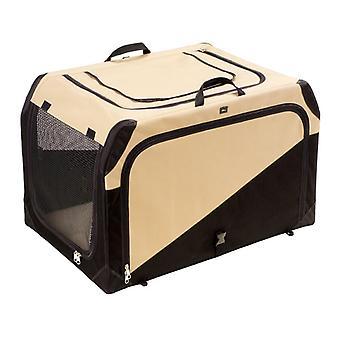 Cassetta di trasporto Hunter 106x71x69cm Tan/Nero Extra Large