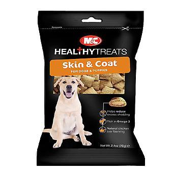 M & C sund behandler hund hud & frakke behandler 70g (pakke med 6)