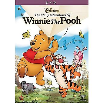Many Adventures of Winnie the Pooh [DVD] USA import