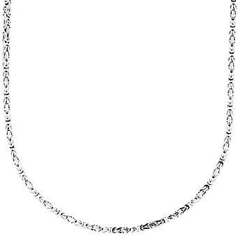 Sterling 925 Silver King chain - DOTTE 2x2mm