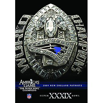 NFL Amerika spil: patrioter (Super Bowl Xxxix) [DVD] USA importerer