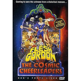 Kødet Gordon opfylder den kosmiske Cheerleaders [DVD] USA importerer