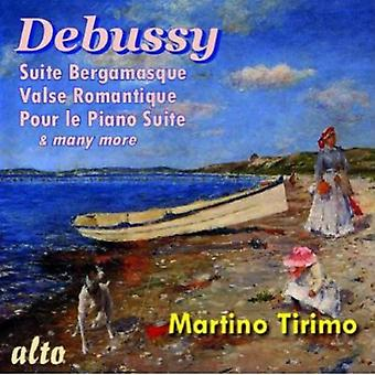 Martino Tirimo - Debussy: Piano Suites [CD] USA import