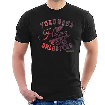 Haynes Marke Yokohama Dragster Motorräder Herren T-Shirt