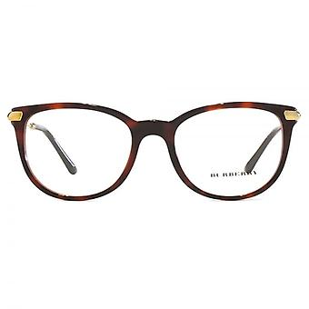 Burberry BE2255Q Glasses In Havana On Bordeaux